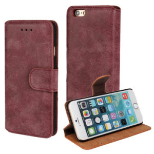 Many Color Mobile Cell Phone Leather Filp Case Cover for iPhone 6 pictures & photos