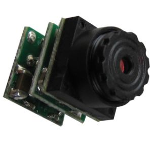12V Micro Security Camera for Home, Car, Fpv, Factory Monitoring (520tvl, 0.008lux, Size: 9.5X9.5X18mm) pictures & photos