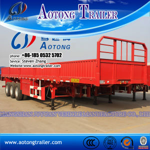 Competitive Price Cargo Transporter Side Board Open Semi Trailer pictures & photos