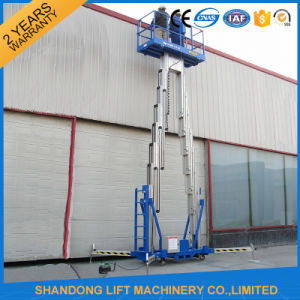 8m Aluminum Telescopic Man Lifting Equipment with Ce pictures & photos