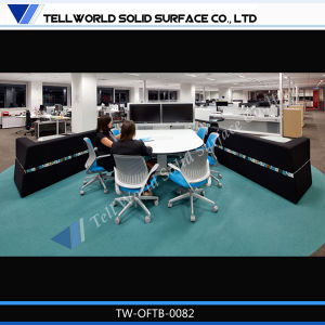 Modern Style Office Furniture Artificial Stone Office Meeting Table Design pictures & photos