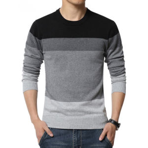 2017 New Autumn Winter Fashion Brand Casual Sweater O-Neck Striped Slim Fit Knitting Mens Sweaters and Pullovers Men Pullover Men M-5XL pictures & photos