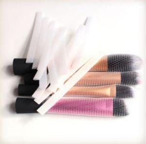 PE Brush Protector Netting, Makeup Brush Guards,