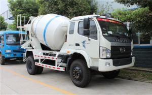 Foton 4X2 Small Concrete Mixer Truck pictures & photos