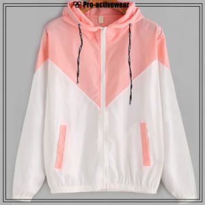 2017 High Quality Custom Women Sport Jackets Hoodies for Gym pictures & photos