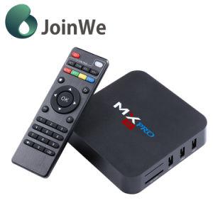 Mx PRO Android 5.1 4K TV Box Amlogic S905 Quad Core 1g 8g Ott TV Box pictures & photos