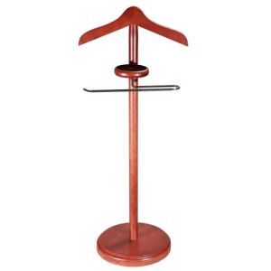 Dark Walnut Solid Wood Valet Stand pictures & photos