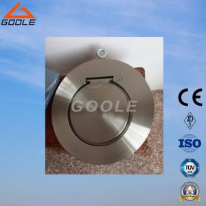150lb Cast Steel Single Plate Swing Check Valve (GAH74H) pictures & photos