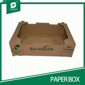 Paper Fruit Box with Custom Style pictures & photos