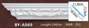 PU Decorative Ceiling Lines/Polyurethane Cornice Moldings for Home&Interior Decoration pictures & photos