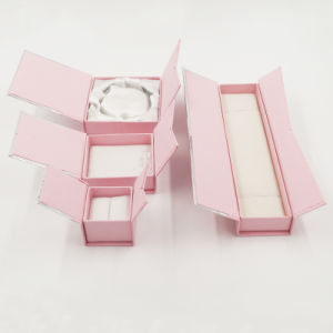 Silver Printing Paper Cardboard Gift Packaging Box (J11-E3) pictures & photos