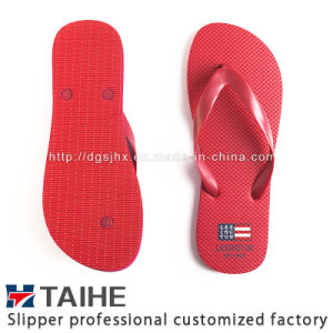 Wholesale Factory Custom Popular Design Rubber Flip Flops in China Slippers Sandals pictures & photos