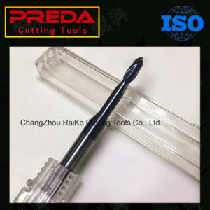 Ultra Carbide 2 Flutes Long Neck Ball Nose End Mill for Copper pictures & photos
