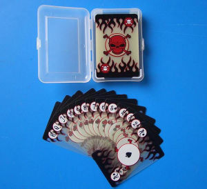 Custom Transparent PVC Playing Cards pictures & photos