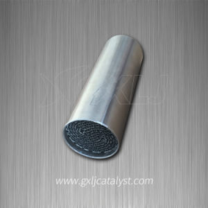 Metallic Honeycomb Catalytic Converter Motorcycle Exhaust Purification System Substrate pictures & photos