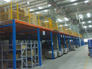 Heavy Duty Mezzanine Warehouse Storage Steel Rack pictures & photos