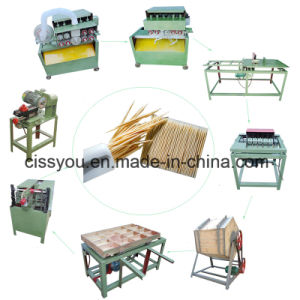 China Selling Wood Toothpick Chopsticks Bamboo Incense Stick Making Machine pictures & photos