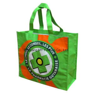 Printed PP Woven Plastic Bag, Plastic PP Woven Bag Promotion Bag pictures & photos