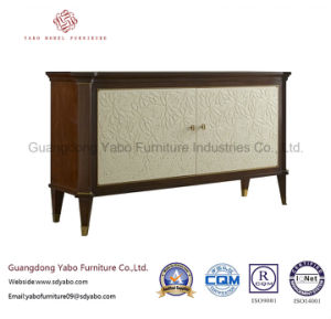 Extraordinary Hotel Furniture with Living Room Delicate TV Stand (8632-1) pictures & photos