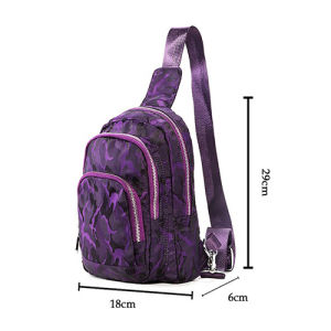 Women Bicycle Hiking Travel Chest Crossbody Triangle Bag pictures & photos