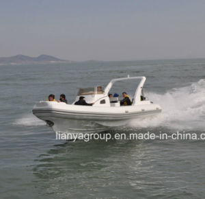 Liya 2.4-8.3meter China Semi-Rigid Inflatable Boat Hypalon pictures & photos
