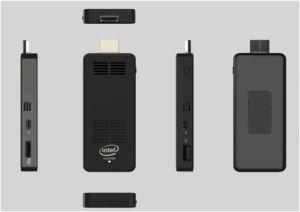 Mini PC Sticker with Intel Quad Core HD Graphics pictures & photos