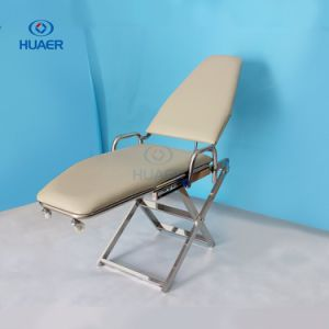 Dental Clinic Portable Dental Chair with Light and Operate Plate pictures & photos