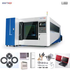 500W 1000W 2000W Fiber Metal Laser Cutting Machine pictures & photos
