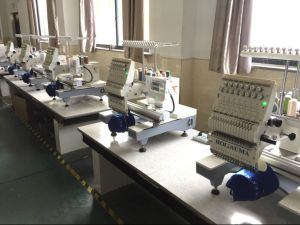 Wholesale Holiauma Embroidery Machines 1 Head; Wheel Embroidery Machine Price Single Sequin Device 3D Sewing Cap Flat Embroidery Machine Swf Barudan pictures & photos