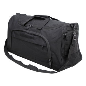 Men Women Travel Outdoor Black Shoulder Luggage Duffle Bag pictures & photos