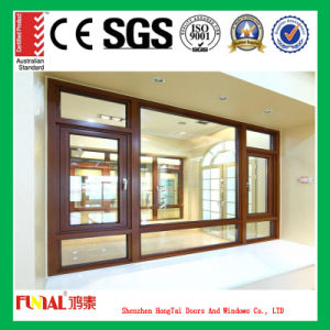 Double Tempered Glass Casement Window pictures & photos