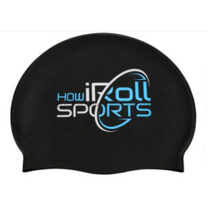Promotional Custom Outdoor Water Sports Silicone Swim Cap pictures & photos