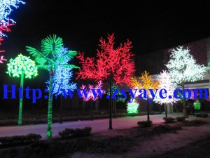 Yaye Cheapest Price Best Quality Warranty 2 Years Ce & RoHS Approval Waterproof IP65 LED Cherry Tree Light /LED Tree pictures & photos