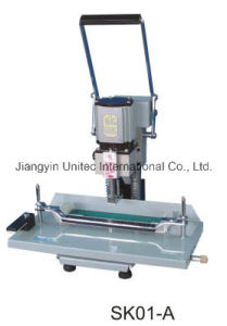 New Products Electric Tube Hole Paper Punching Machine Sk01-a pictures & photos
