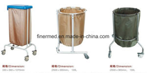 Solid Hospital Linen Cart pictures & photos