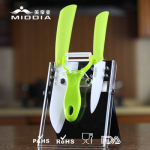 Mutifuctional Knife Set with Color Handle for Kitchen Products pictures & photos