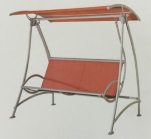 Leisurely Net Cloth 2-Seater Garden Swing-2 pictures & photos