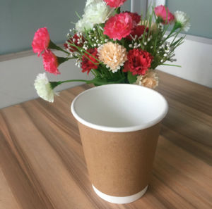 8oz Disposable Double Wall Paper Cups pictures & photos