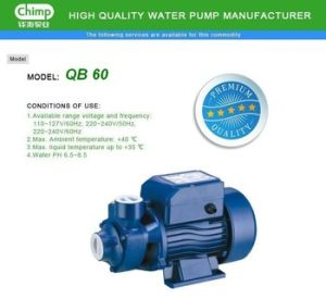 1.0HP Small Size Home Use Qb80 Vortex Electric Water Pump pictures & photos