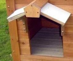 Dog Houses Cat Kennel Wooden Log Cabin Wood Pet House pictures & photos