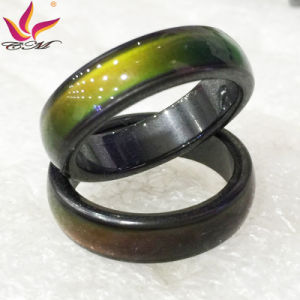Htr17031501 Customized Fashion 6mm Changed Color Finger Rings Mood Rings pictures & photos