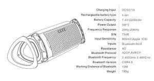 Wholesale Aluminium Mini Portable Bluetooth Wireless Speaker pictures & photos