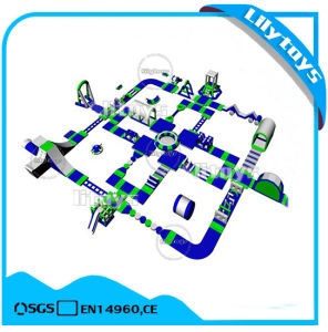 Factory Price Inflatable Floating Water Park Inflatable Island for Sale