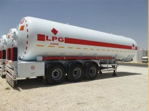 LPG/Oil Fuel Tank Trailer 20-60cbm LPG Tanker Trailer pictures & photos