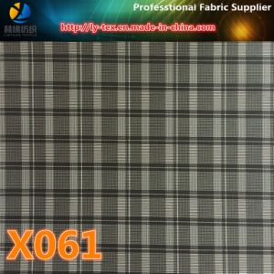 Polyester Check Prompt Goods, Lining Fabric (X061-9) pictures & photos