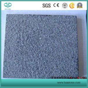 Bush Hammered Dark Grey Granite G684 Tile pictures & photos