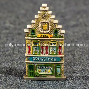 Resin Holland Souvenir of House From Amsterdam Drugstore pictures & photos