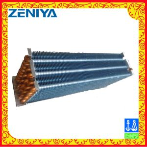 Cost-Effective No Frost Copper Tube Hydrophilic Aluminum Fin Heat Exchanger pictures & photos