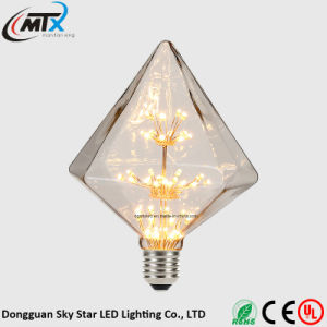 CE UL Warm White Creative Design 3W LED Decorative Bulb pictures & photos