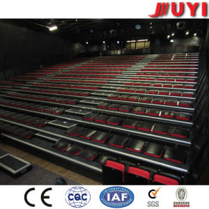 Jy-780 Classic Fabric Basketball Telescopic Plastic Bleachers Theater Seating Retractable Bleacher Seating pictures & photos